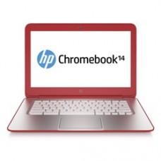 HP 14 4GB 16GB SSD 14 inch Google Chromebook in Peach Coral