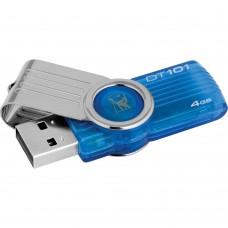 Kingston USB flash drive - 4 GB - USB 2.0 - cyan