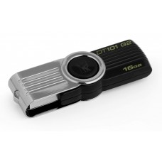 Kingston DataTraveler 16GB USB Flash Drive - Black