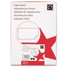 5 Star Addressing Labels Inkjet 14 per Sheet 99.1x38.1mm White [560 Labels]