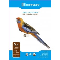 Mirror 150gsm A4 Photo Paper Gloss