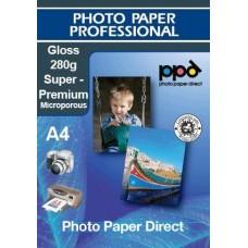 A4 Inkjet Premium Gloss Photo Paper