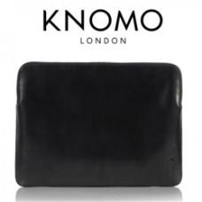 "Knomo Designer Leather Sleeve fits 13.3"" Ultrabooks"